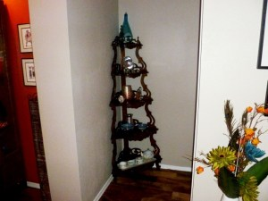 Antique Corner Shelf