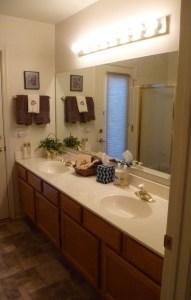 Before Hall Bath design