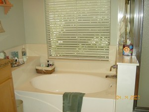 Before Master Tub