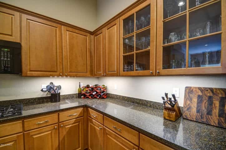 Kitchen Counter Close Up close up kitchen counter – interior preference