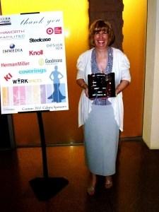 Paula Savino Win Trophy