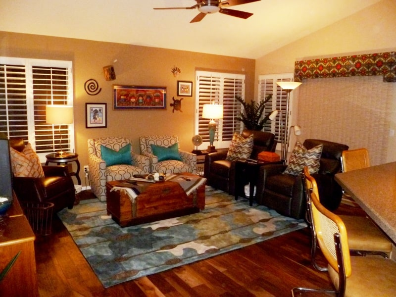 Since Our Chandler Clientu0027s Design Sensibility Is Eclectic With Warm Hues,  Pops Of Color, Whimsical Touches And Lovers Of Native Indian Artifacts This  ...