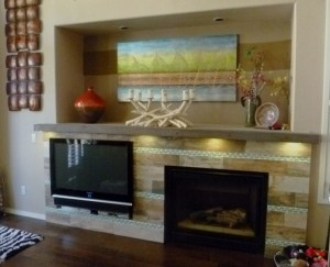 Great Room Fireplace update