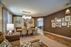 Living Dining Entry staging