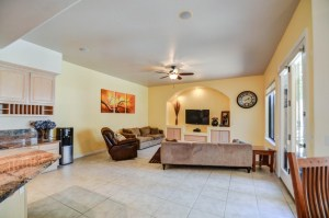 family room phoenix staging