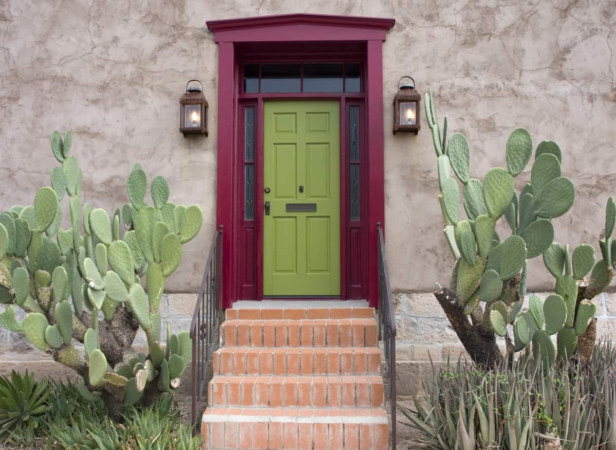 Old Tucson, house entrance