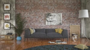 Render of the living room (using 3ds Max)