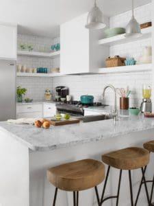 White Kitchen home interior design
