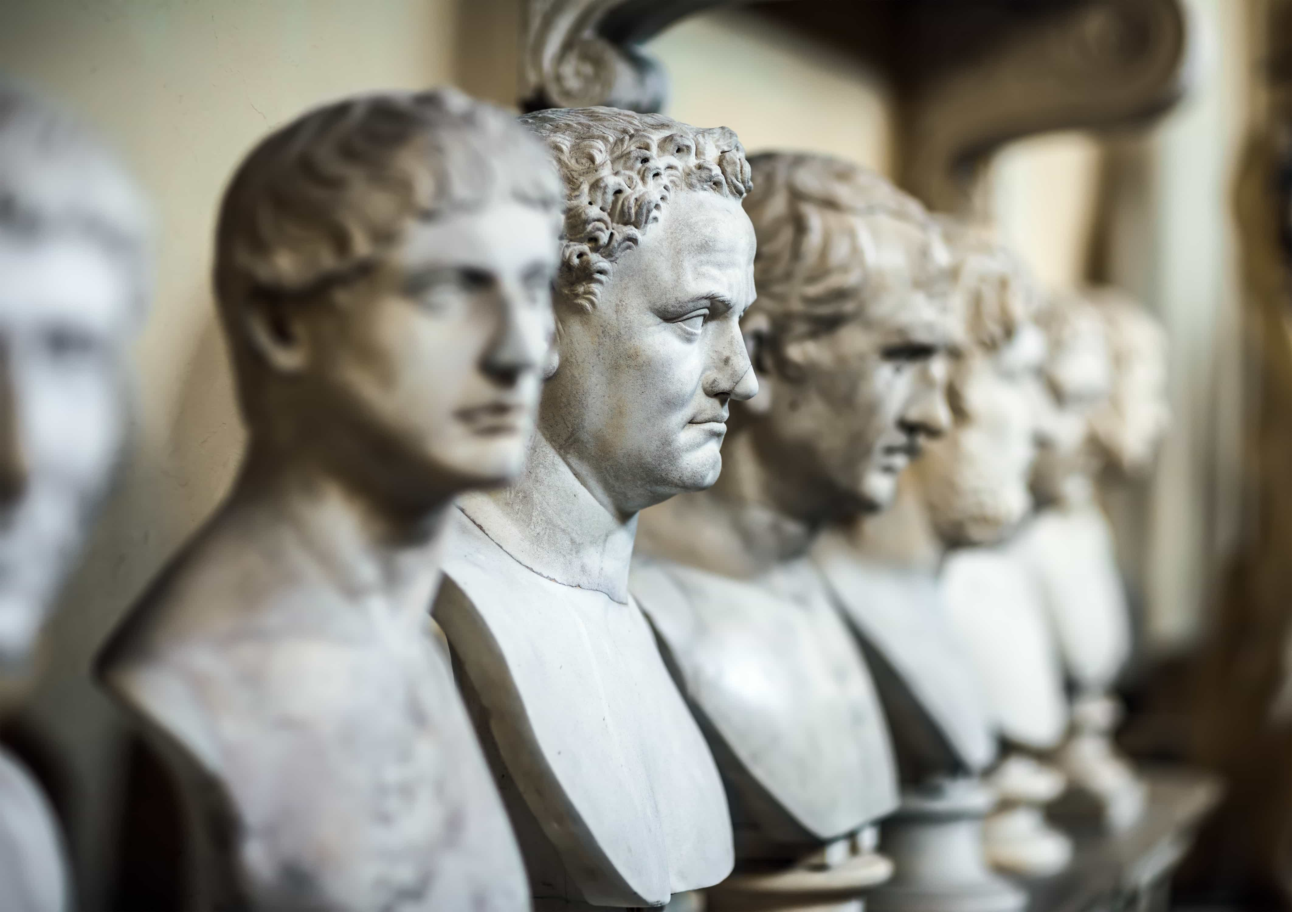 image of busts to be used in interior design