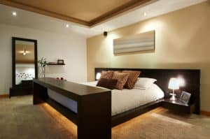 Polished Look Bedroom
