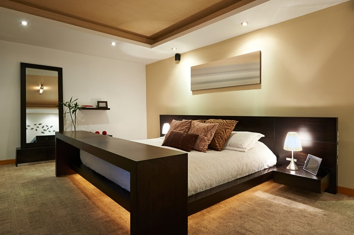 Polished Look Bedroom