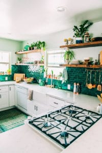 Brilliant Green Tiles