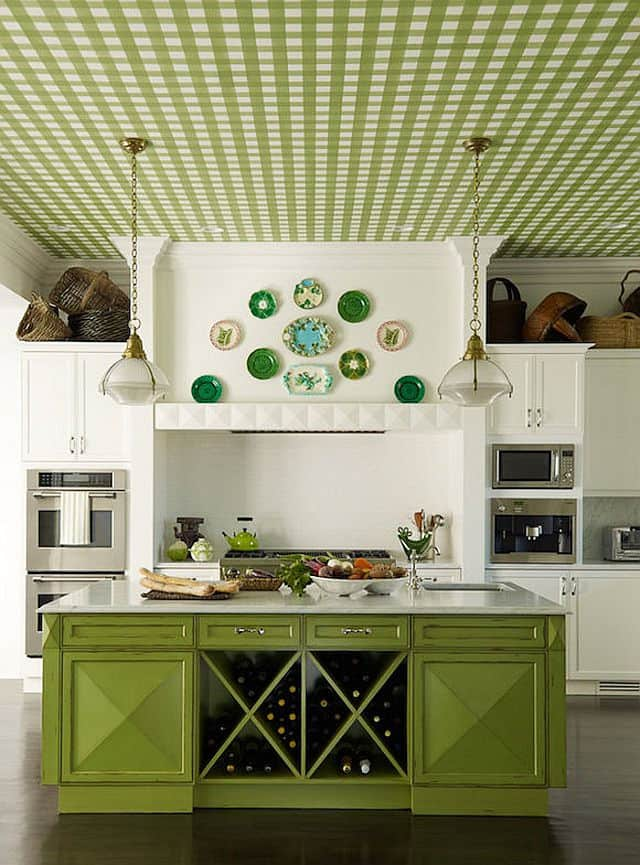Green Color Home Decor
