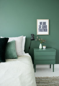 Accent Green Wall